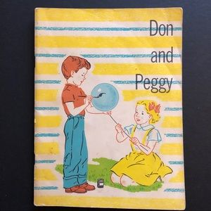 5/$25 VTG EARLY READER Don And Peggy 50's